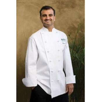 CFWCKCCL46 - Chef Works - CKCC-L-46 - Montreux Executive Chef Coat (L) Product Image