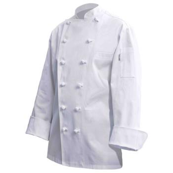 CFWCKCCXL48 - Chef Works - CKCC-XL-48 - Montreux Executive Chef Coat (XL) Product Image