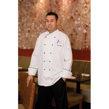 CFWCOBTL - Chef Works - COBT-L - Champagne Chef Coat (L) Product Image