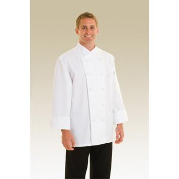 CFWCOCC4XL - Chef Works - COCC-4XL - St. Maarten Chef Coat (4XL) Product Image