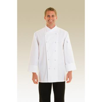 CFWCOPK4XL - Chef Works - COPK-4XL - Nice Chef Coat (4XL) Product Image