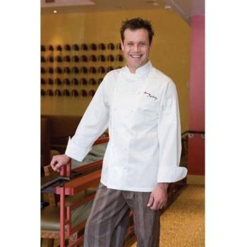 CFWECHRXL50 - Chef Works - ECHR-XL-50 - Madrid Chef Coat (XL) Product Image
