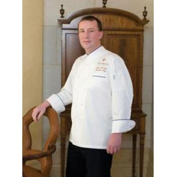 CFWECRIM42 - Chef Works - ECRI-M-42 - Bali Chef Coat (M) Product Image