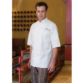 CFWECSS2XL54 - Chef Works - ECSS-2XL-54 - Capri Chef Coat (2XL) Product Image