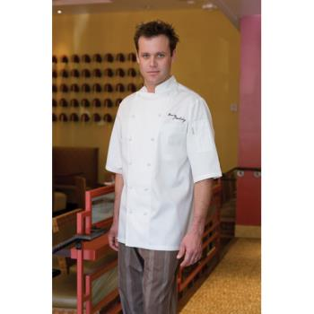 CFWECSSXL50 - Chef Works - ECSS-XL-50 - Capri Chef Coat (XL) Product Image