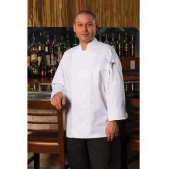 CFWEWCCXS32 - Chef Works - EWCC-XS-32 - Lyon Executive Chef Coat (XS) Product Image