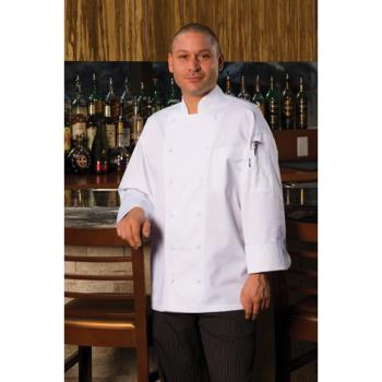 CFWEWCCXS34 - Chef Works - EWCC-XS-34 - Lyon Executive Chef Coat (XS) Product Image