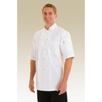 CFWKNSSXS - Chef Works - KNSS-XS - Tivoli Chef Coat (XS) Product Image
