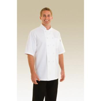 CFWPCSSWHT5XL - Chef Works - PCSS-WHT-5XL - Volnay Chef Coat (5XL) Product Image