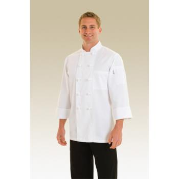 CFWPKWC4XL - Chef Works - PKWC-4XL - Bordeaux Chef Coat (4XL) Product Image