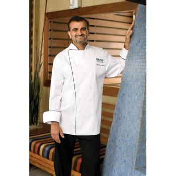 CFWRECCXL50 - Chef Works - RECC-XL-50 - Reims Executive Chef Coat (XL) Product Image