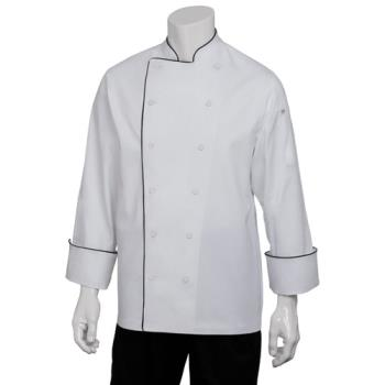 CFWRECCXS32 - Chef Works - RECC-XS-32 - Reims Executive Chef Coat (XS) Product Image