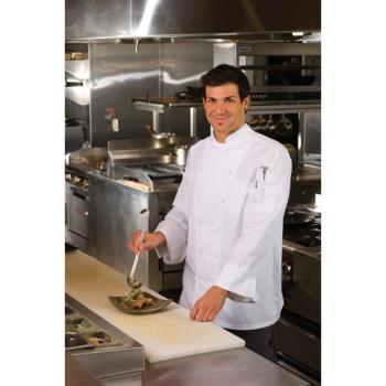 CFWSE522XL - Chef Works - SE52-2XL - Monza Chef Coat (2XL) Product Image