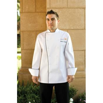 CFWTRCC4XL - Chef Works - TRCC-4XL - Sicily Chef Coat (4XL) Product Image