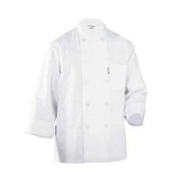 CFWWCCWWHT4XL - Chef Works - WCCW-WHT-4XL - LeMans Chef Coat (4XL) Product Image