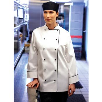 CFWWICCXL - Chef Works - WICC-XL - Women's Lausanne Chef Coat (XL) Product Image