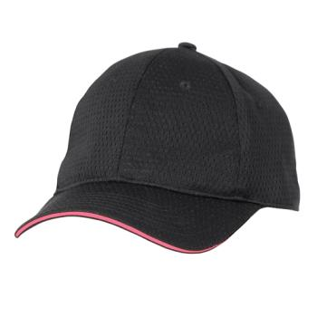CFWBCCTBER - Chef Works - BCCT-BER - Cool Vent Black/Berry Baseball Cap  Product Image