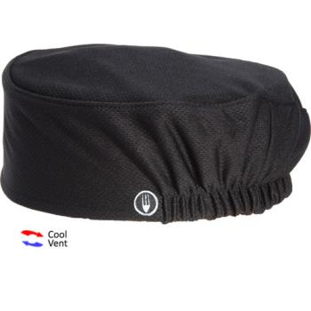 81648 - Chef Works - DFAO-BLK - Total Vent Black Beanie Product Image