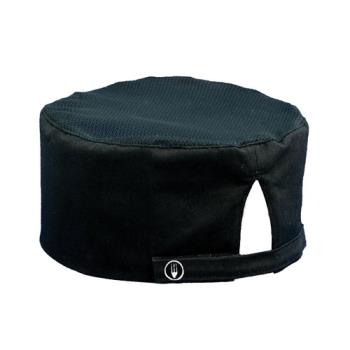 81755 - Chef Works - DFBB - Cool Vent Black Beanie Product Image
