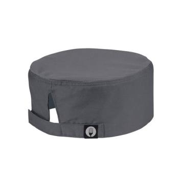 81927 - Chef Works - DFCV-GRY - Cool Vent Gray Beanie Product Image