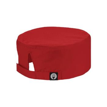 79104 - Chef Works - DFCVRED - Cool Vent Red Beanie Product Image