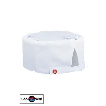75912 - Chef Works - DFWB - Cool Vent White Beanie Product Image