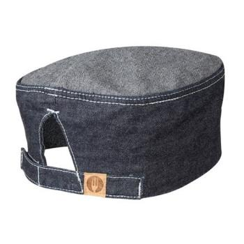 CFWHB004IBL - Chef Works - HB004-IBL - Indigo Blue Manhattan Beanie Product Image
