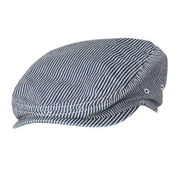 CFWHB007IBL - Chef Works - HB007-IBL - Indigo Blue Portland Driver Cap Product Image