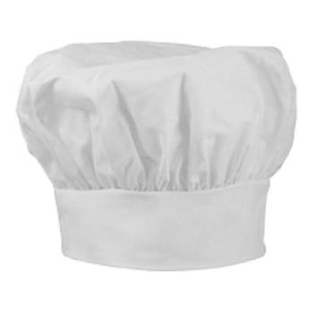 81560 - San Jamar - 400CHV - White Chef Hat Product Image