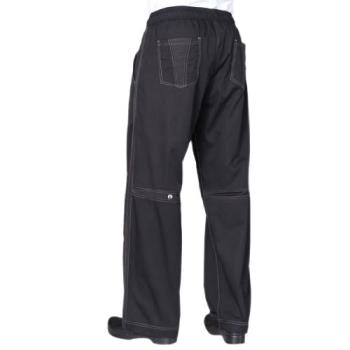 CFWCVBPBLKXS - Chef Works - CVBP-BLK-XS - Black Cool Vent Pants (XS) Product Image