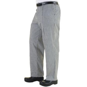 CFWBWCPXS26 - Chef Works - BWCP-XS - Checked Chef Pants (XS) Product Image