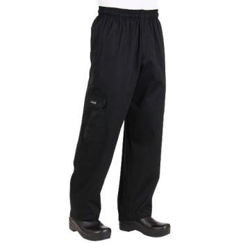 81627 - Chef Works - CPBL-S - Black J54 Cargo Pant (S) Product Image