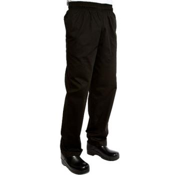 CFWEBCPXL - Chef Works - EBCP-XL - Black Designer Chef Pants (XL) Product Image