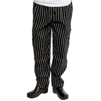 CFWGSBPXS - Chef Works - GSBP-XS - Chalk Stripe Designer Chef Pants (XS) Product Image
