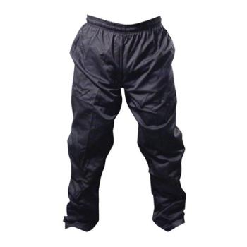 81586 - Chef Works - NBBP-L - Black Baggy Chef Pants (L) Product Image