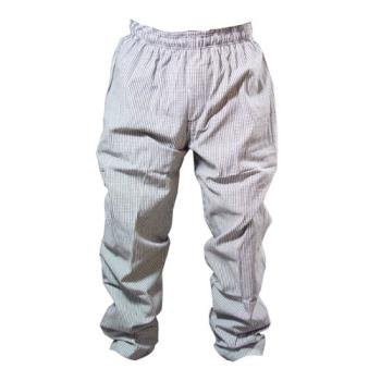 81589 - Chef Works - NBCP-M - Checked Baggy Chef Pants (M) Product Image