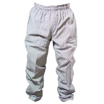 81591 - Chef Works - NBCP-XL - Checked Baggy Chef Pants (XL) Product Image