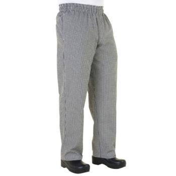 CFWNBMZS - Chef Works - NBMZ-S - Checked Baggy Chef Pants (S) Product Image