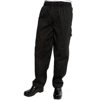 CFWPINBM - Chef Works - PINB-M - Pinstripe Designer Chef Pants (M) Product Image