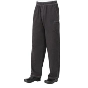 CFWUPEWSMO2XL - Chef Works - UPEW-SMO-2XL - Smoke Gray Enzyme Utility Pants (2XL) Product Image