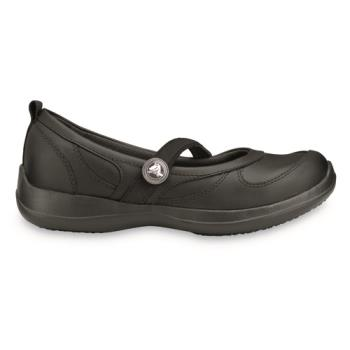 81743 - Crocs - Juniper - Crocs™ Juniper Black Work Shoe W7 Product Image