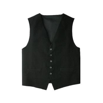 CFWVPMEBLK3XL - Chef Works - VPME-BLK-3XL - Black Vest (3XL) Product Image