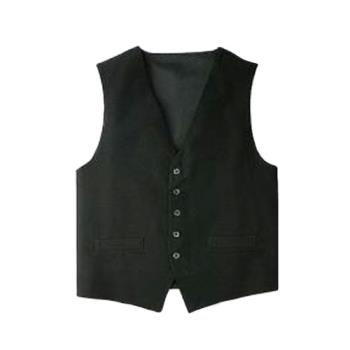 CFWVPMEBLKXL - Chef Works - VPME-BLK-XL - Black Vest (XL) Product Image