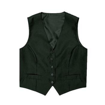 CFWVPWOBLKM - Chef Works - VPWO-BLK-M - Women's Black Vest (M) Product Image
