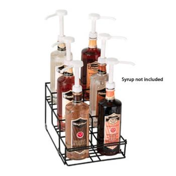 59268 - Dispense-Rite - WR-BOTL-6 - 6-Section Wire Bottle Dispenser Product Image