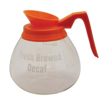 66124 - Grindmaster - 98006 - 64 oz Orange Decanter Product Image