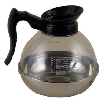 66120 - Update International - CD-8890 - 64 oz Coffee Decanter with Black Handle Product Image