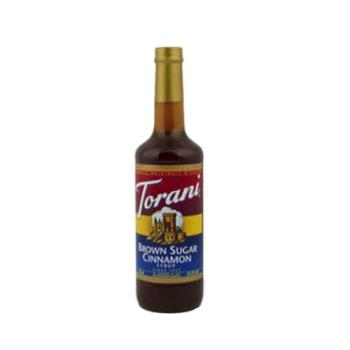 TOR361316 - Torani - 361316 - 750 ml Brown Sugar Cinnamon Syrup Product Image
