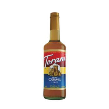 TOR362733 - Torani - 362733 - 750 ml Salted Caramel Syrup Product Image