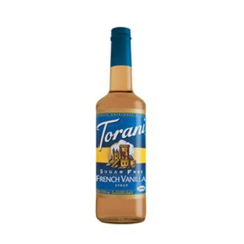 TOR372824 - Torani - 372824 - 750 ml French Vanilla Sugar Free Syrup Product Image